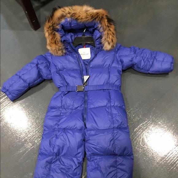 adc24fa5c Moncler kids snow suit, size 3Y